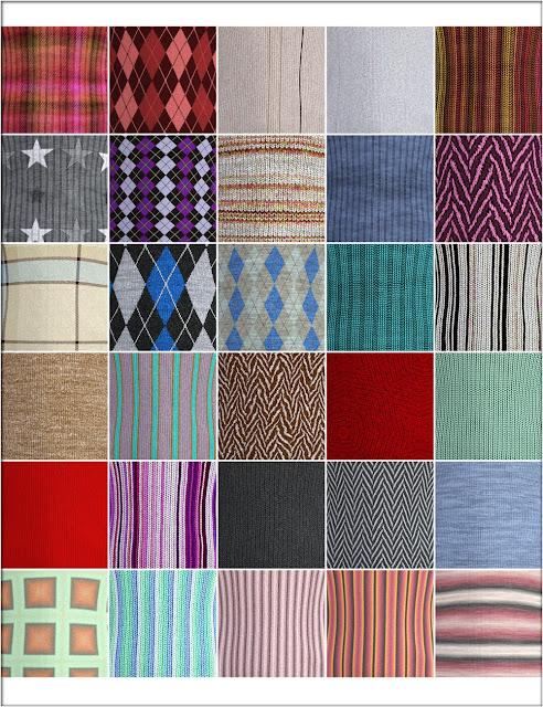 Selection Knittings Iray