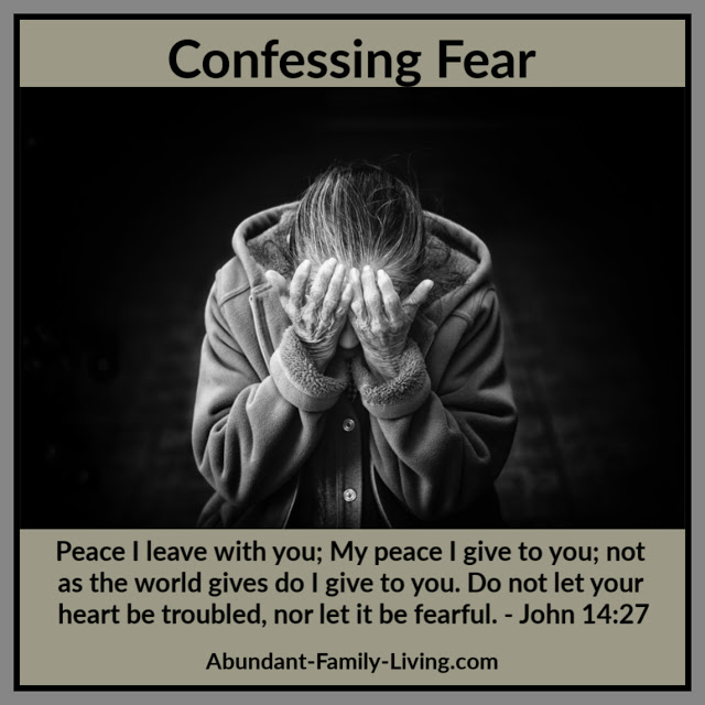 Confessing Fear