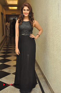 Actress Surabhi Stills in Black Long Dress at turodu Audio Launch  0120.JPG