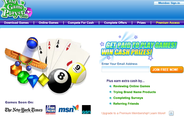 how to earn money by playing online games for free