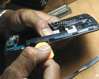 tutorial bagaimana cara membongkar LG G3 - pramud.com