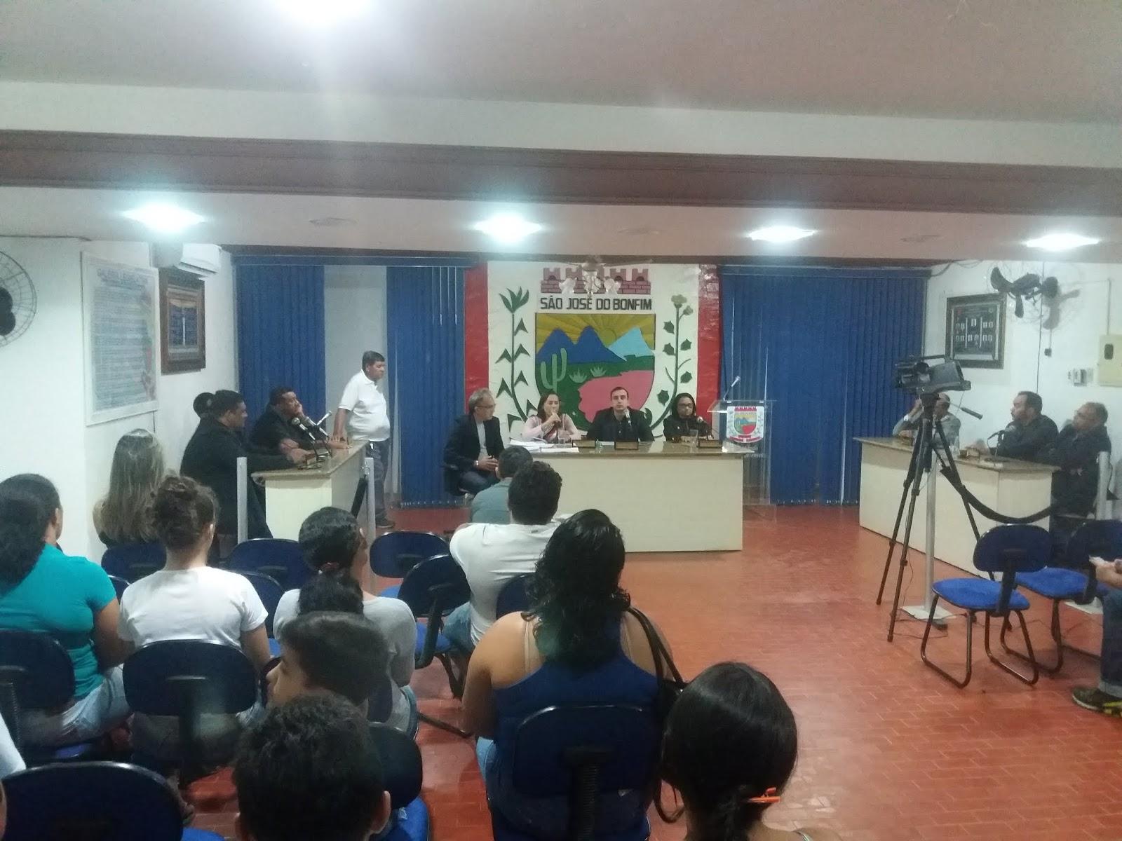 Câmara de São José do Bonfim retoma os trabalhos legislativos -