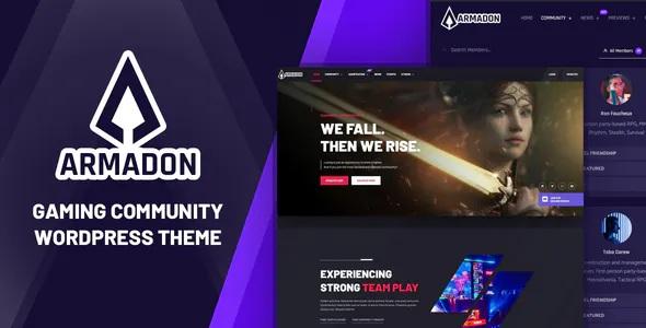 Best Gaming Community WordPress Theme