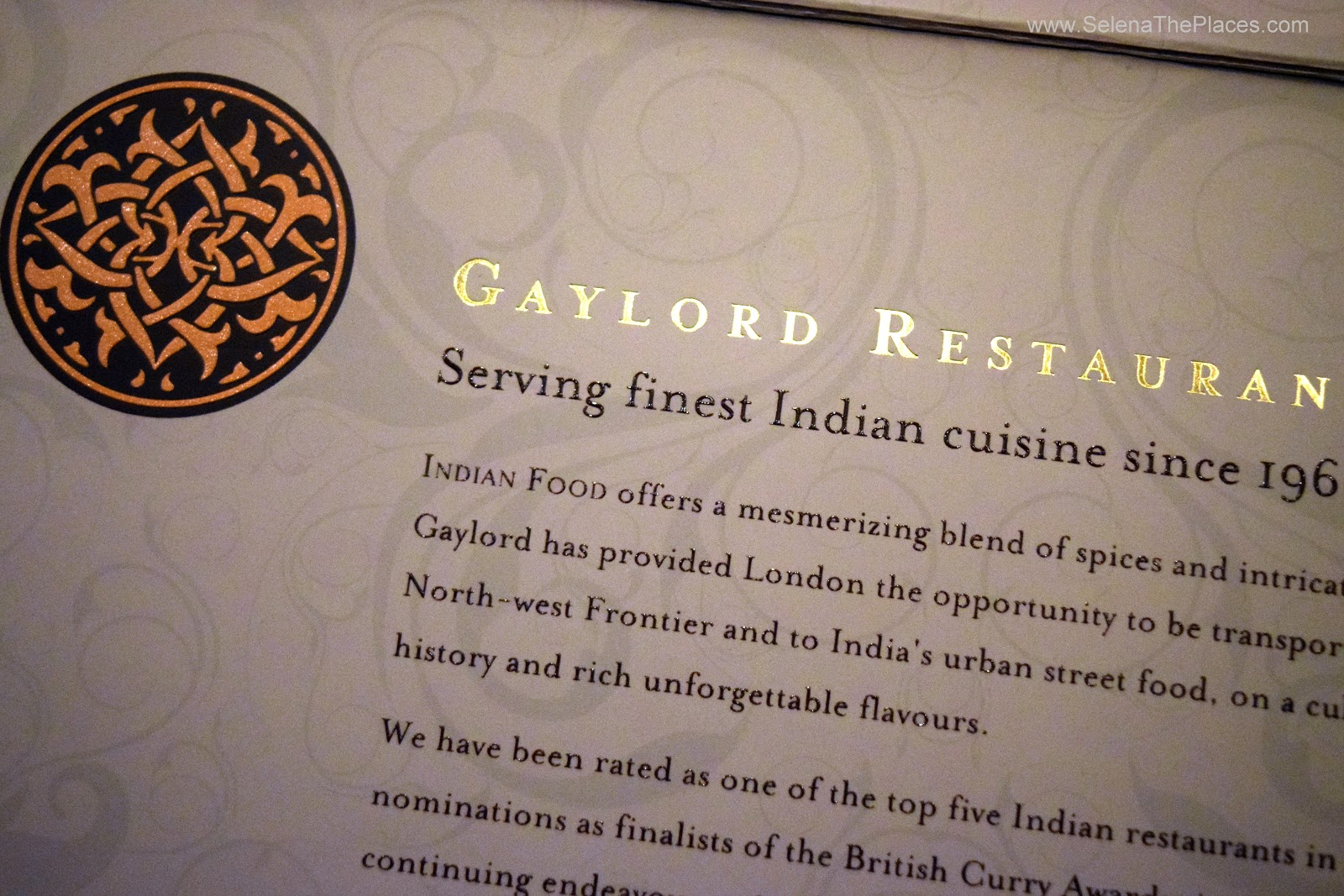 Gaylord Indian Restaurant London