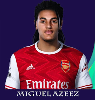 PES 2021 Faces Miguel Azeez by Rachmad ABs