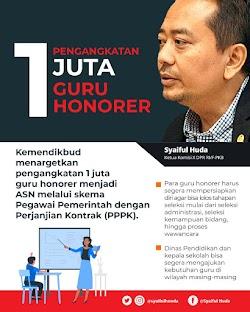 Sеlеkѕі Guru PPPK  2021 Untuk 1 Juta Guru Honorer Resmi Dіbukа