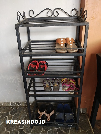 Mau Buat Rak Sepatu Besi? Inilah 5 Model Lebih Rak Sepatu Besi dan Jasa Pembuatan Terpercaya