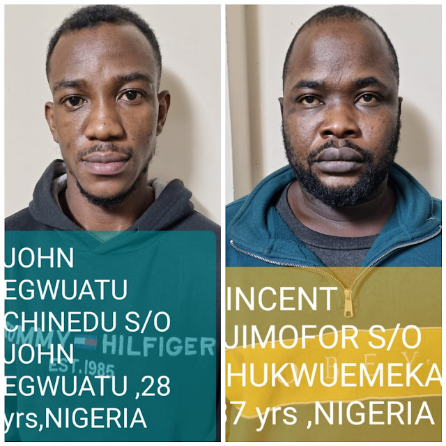 Two Nigerians arrested in India with drugs that worth N7m