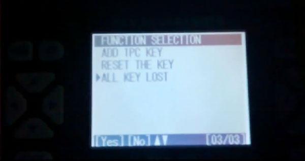Two mins to use SKP900 program Honda CR-V key lost via immo