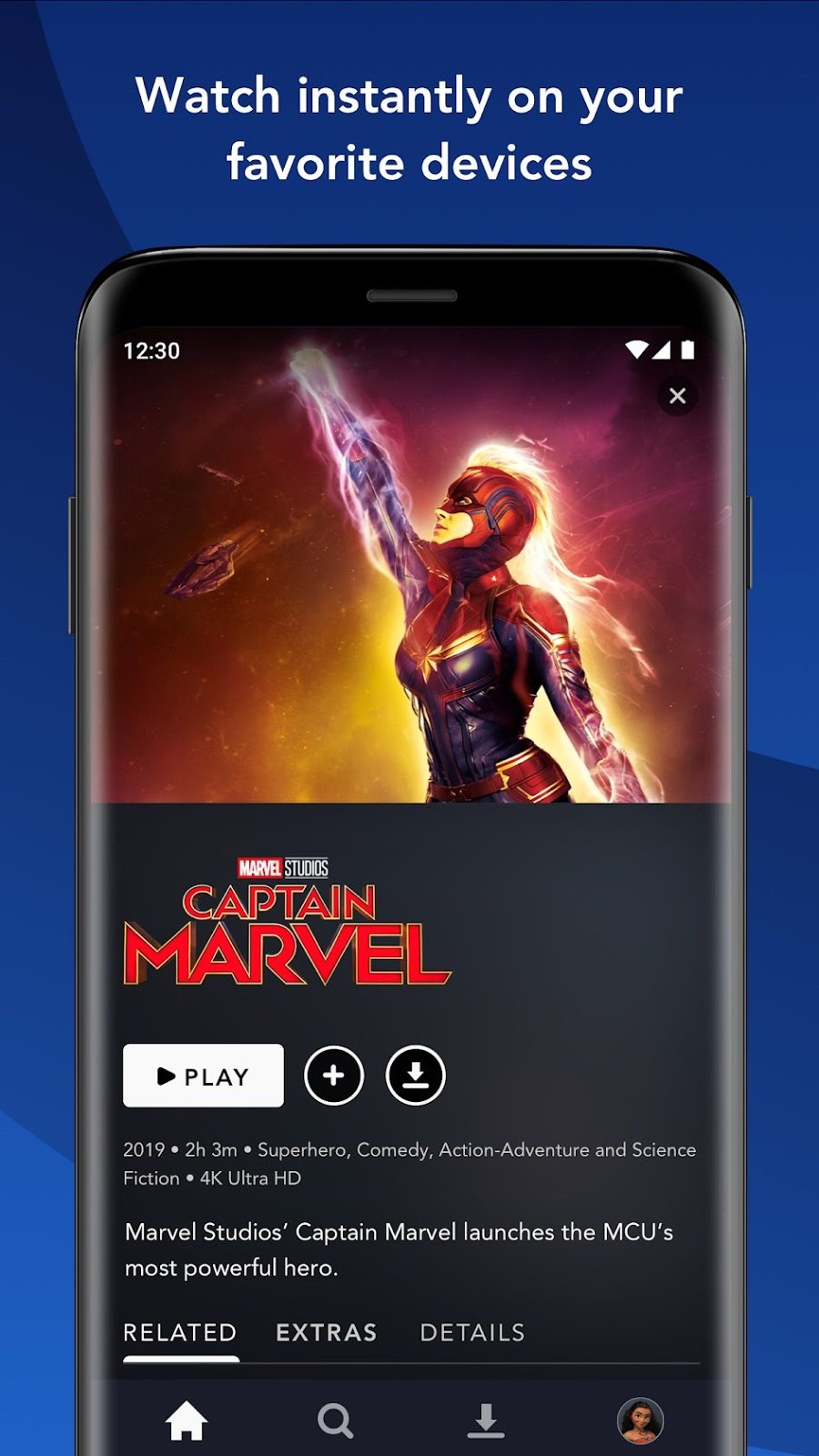 Disney+ app for Android and Android TV now available w/ Chromecast support