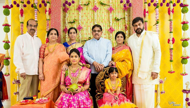 Chiranjeevi Daughter Sreeja Pellikuthuru Function Photos