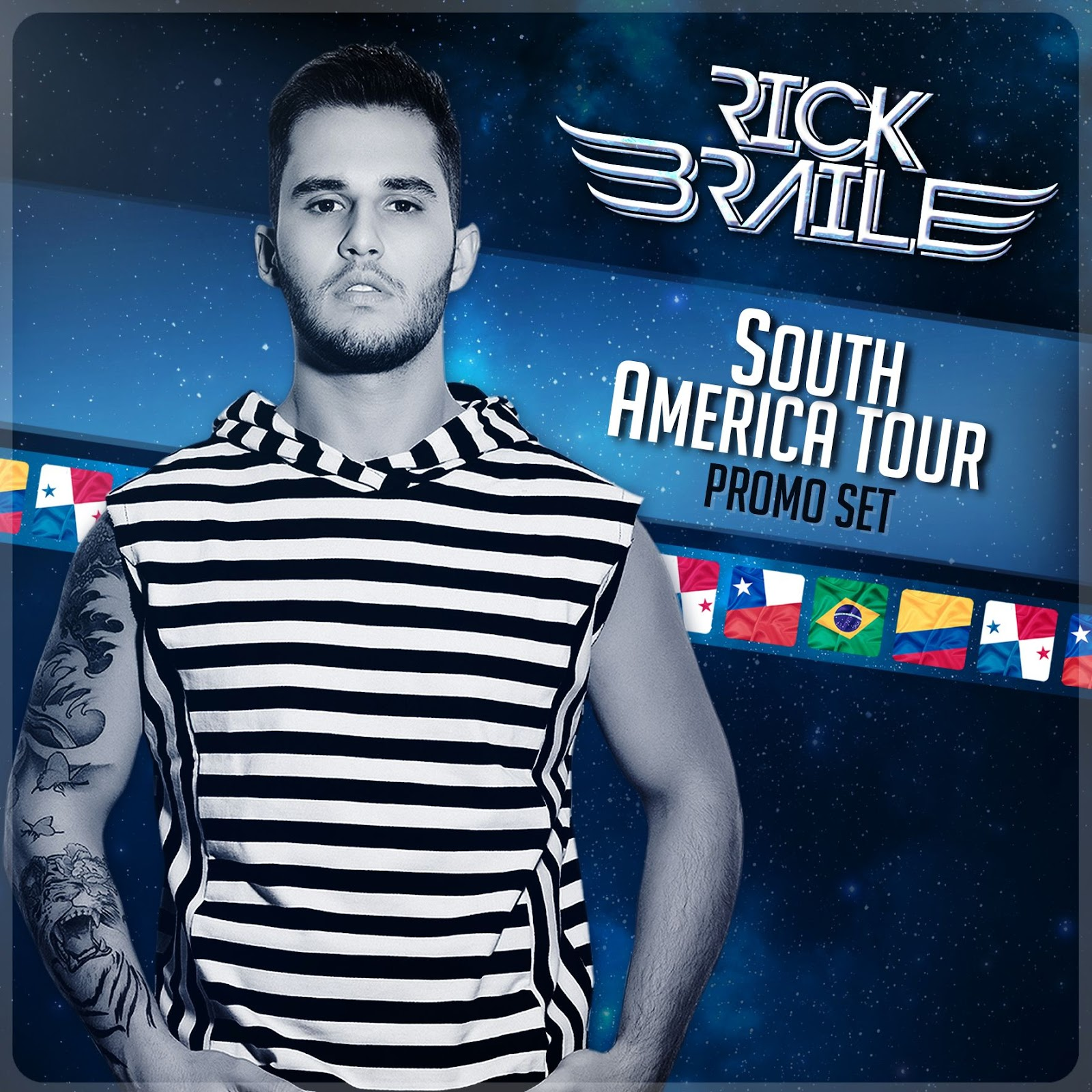 RICK BRAILE - SOUTH AMERICA TOUR PROMO SET
