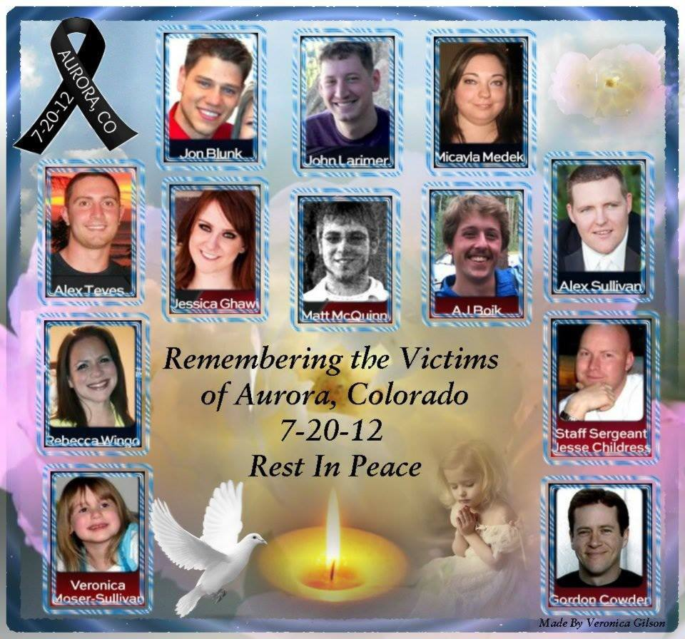 12 Killed 58 Injured In Colo Theater Shooting: Common Gunsense A Blog To Advocate For Sensible Gun