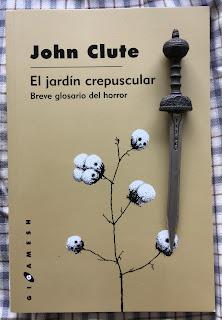 Portada del libro El jardín crepuscular, de John Clute