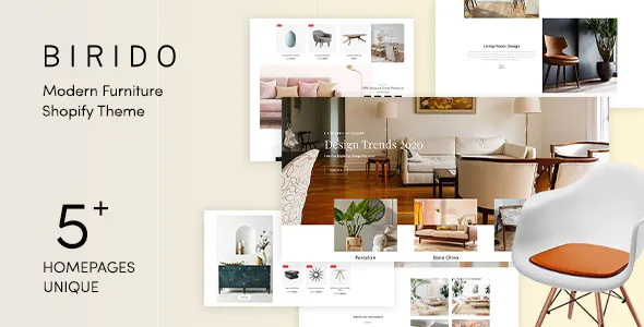Best Modern Furniture Responsive Shopify Theme