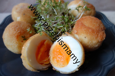 Jajka panierowane