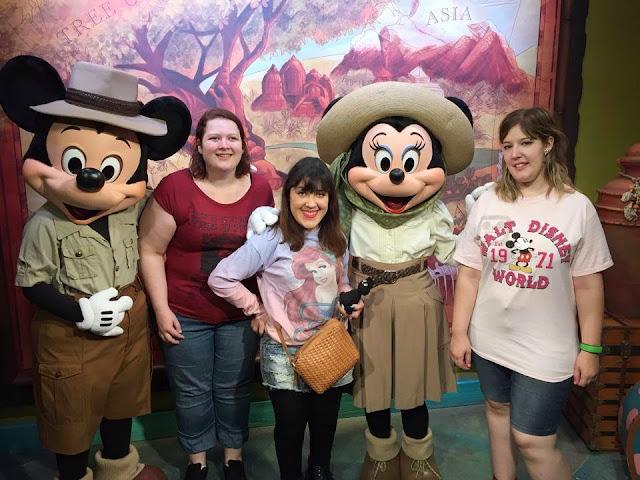 Animal Kingdom Mickey & Minnie en mode aventuriers