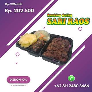 Kambing guling Retail Sari Raos Bandung