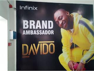 Davido infinix brand ambassador
