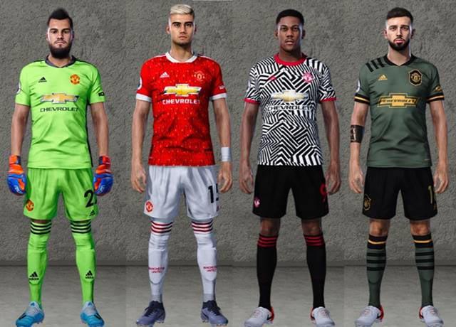 Pes 2020 Manchester United Leaked Kits 2020 2021 Kazemario Evolution