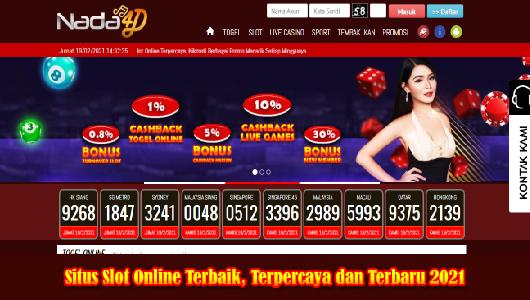Situs Slot Online Terbaik, Terpercaya dan Terbaru 2021