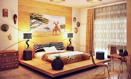 inspired home decor and African interior design decor ideas