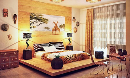 african inspired home decor and african interior design decor ideas - African Decor