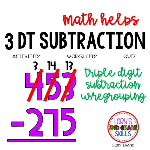 Triple Digit Subtraction Activities