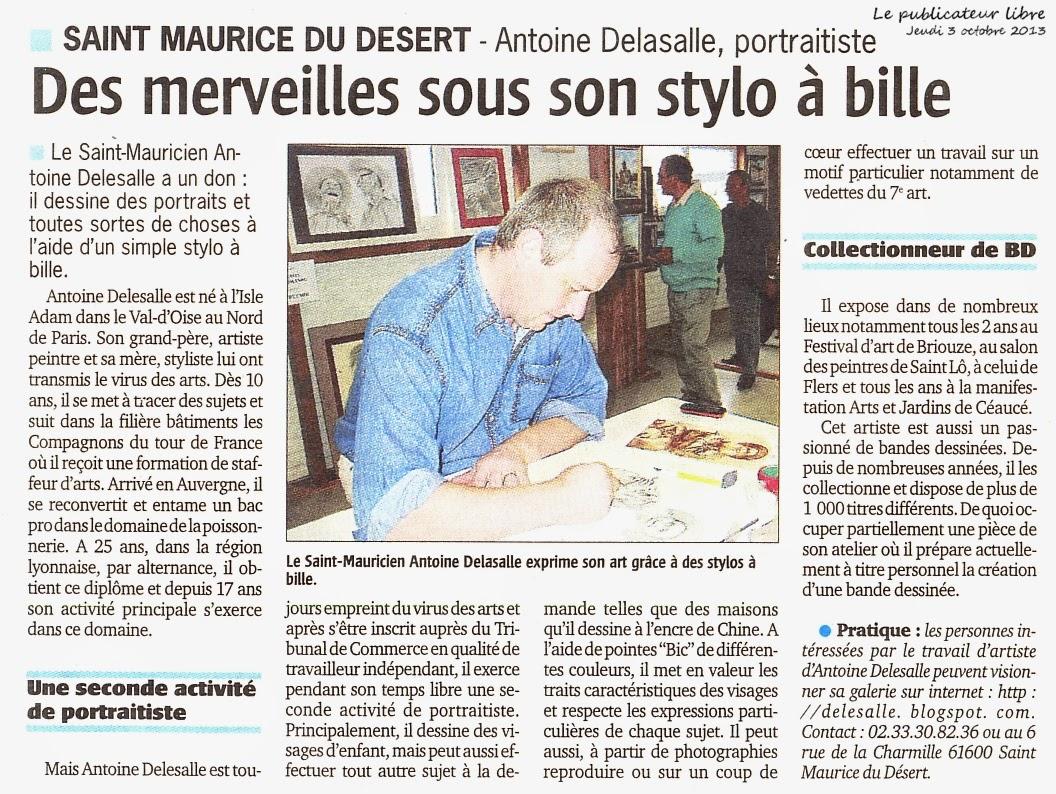 Presse Antoine Delesalle