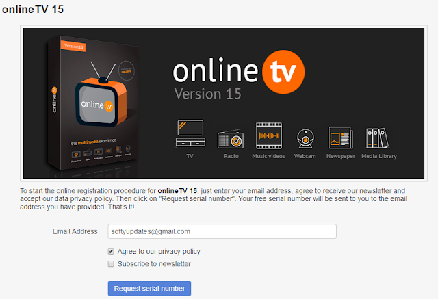 Get OnlineTV 15 For Free and Watch Online Channels