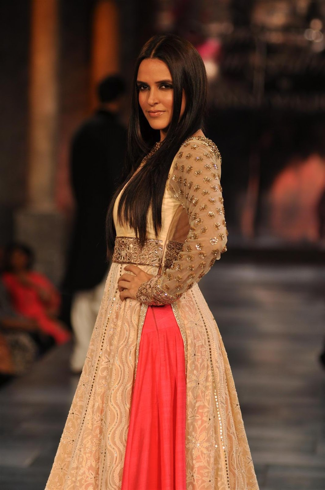 Hot Celebrities At The Shabana Azmi Mijwan Welfare Society Fashion Show In Mumbai