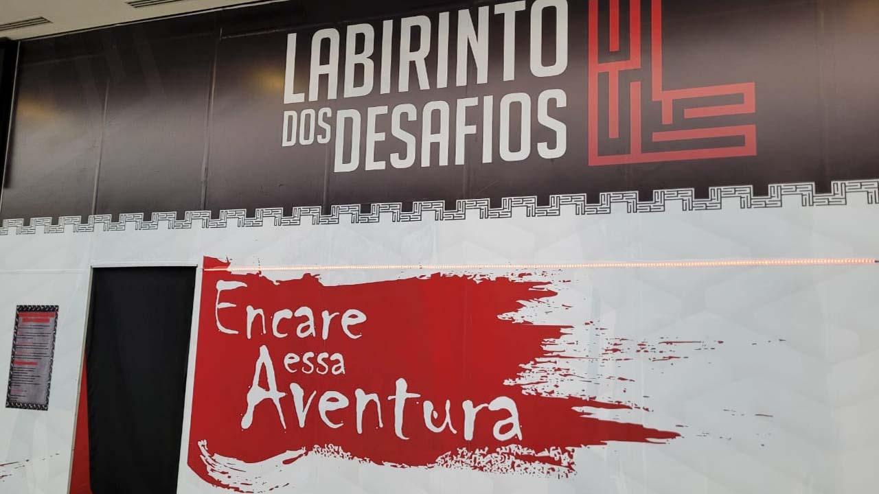 Labirinto dos Desafios é a nova atração do Shopping Park Botucatu