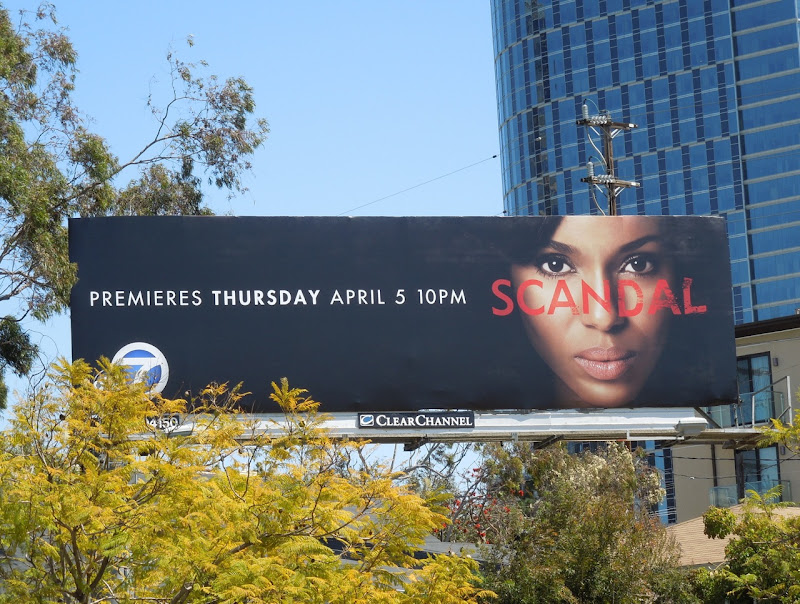 Scandal season 1 billboard