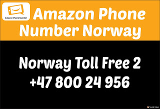 Amazon Customer Care Number Norway