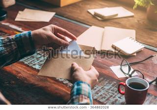 Amplop Surat Pengunduran Diri
