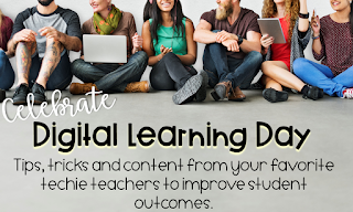 Celebrate Digital Learning Day - click to the next blog post in the hop