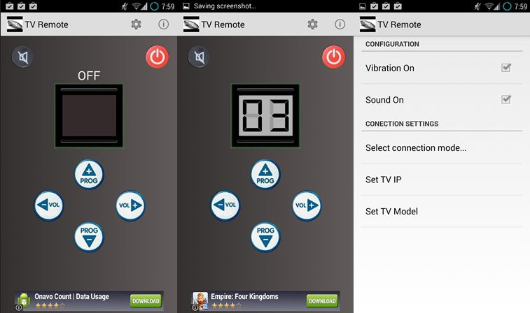 Aplikasi remote tv untuk android - easy universal tv remote