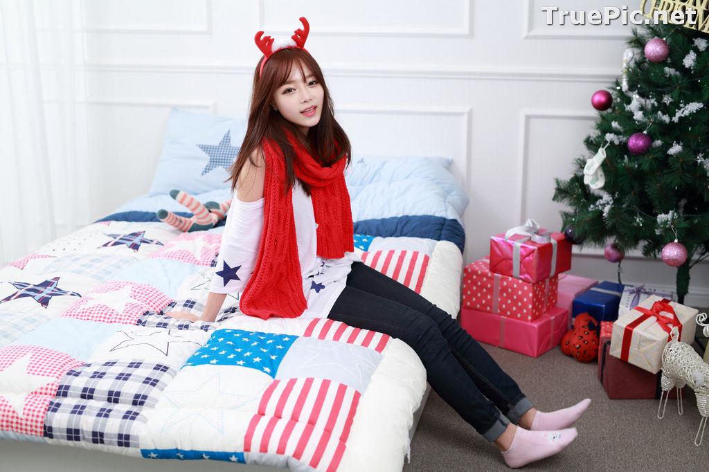 Image Korean Beautiful Model – Ji Yeon – My Cute Princess #2 - TruePic.net - Picture-10