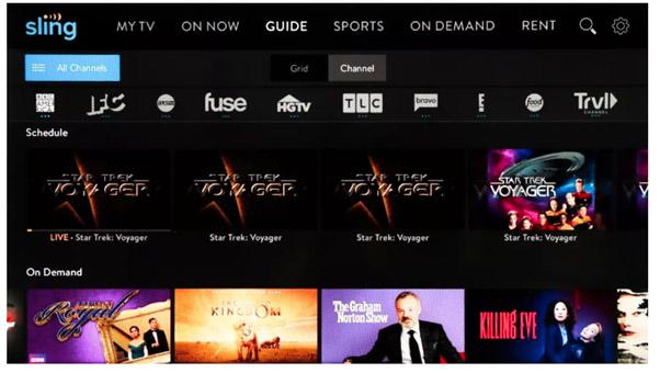 موقع Sling TV