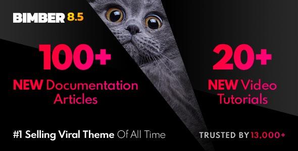 Bimber theme NULLED–Viral WordPress Magazine Template