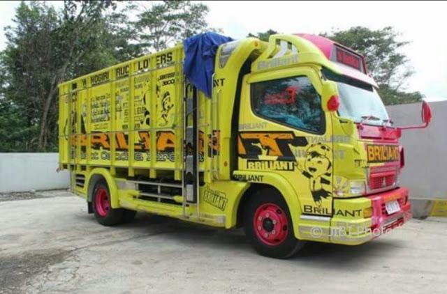 modifikasi truk mewah karoseri