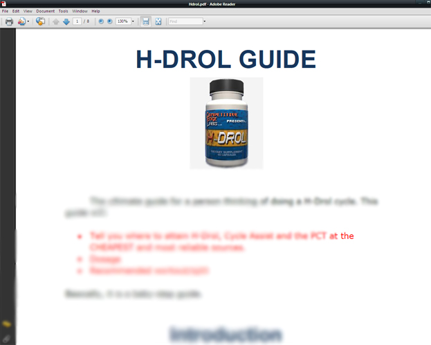 On HDrol Ba...H Drol