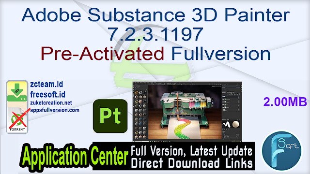 Adobe Substance 3D Painter 7.2.3.1197 Pre-Activated Fullversion