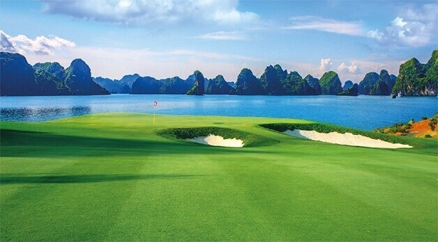 Sân Golf tại FLC Đồ Sơn.