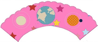 NASA Girls: Free Printable Cupcake Wrappers and Toppers.