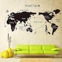 decorar con vinilos, ideas decoración, decoración de salones, pegatinas de pared, stickers de pared