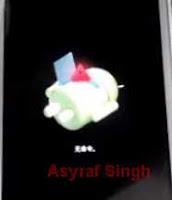 android logo - lenovo a2010