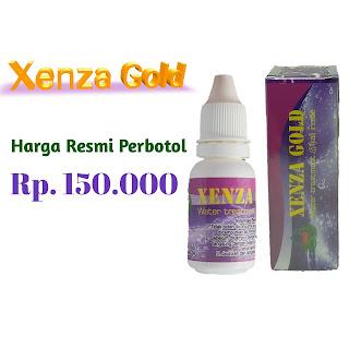 Harga xenza gold original perbotol