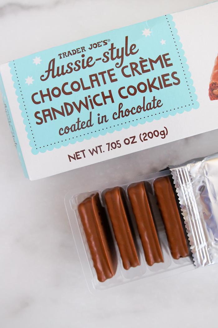 Trader Joe's Aussie-Style Chocolate Crème Sandwich Cookies review