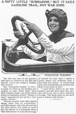 Virginia Rappe Submarine Bonnet
